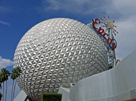 Epcot Spaceship Earth Stock 6 by AreteStock