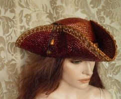 Steampunk-Pirate hat PCSH9 by JanuaryGuest