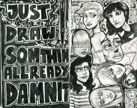 draw somethin damnit by micka-angelo