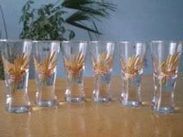brandy glasses by tatjanapaj