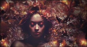 Abstract woman by HalfManHalfBiscuitV2