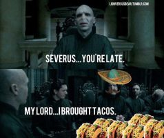 Lord voltamor and tacos by katfishdaddy