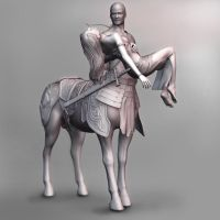 THE UNTOLD LOVE OF CENTAUR wip by johnnugroho