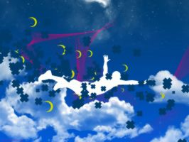 Jump in the Clouds Wallpaper by Alakran