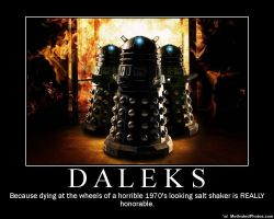 The Mighty Daleks by EEmmzzyy