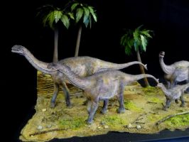 Part of Dino Diorama 2 by Baryonyx-walkeri
