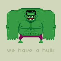We have a Hulk by paperbeatsscissors