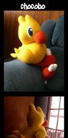 Chocobo Plushie by MysticalDreamer
