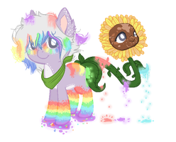 .:ADOPTABLE-CLOSED:.Sunflower booty adopt c: by GhostlyTequila