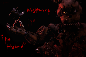 Nightmare Fuel... (The Hybrid) by Tieko2000