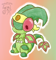 Clara the Flygon .:Chibi:. by FreakyFreak95