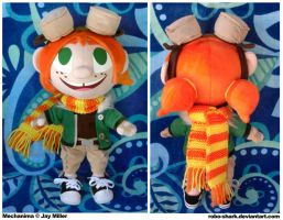 Mechanima: Alex Plush by Robo-Shark