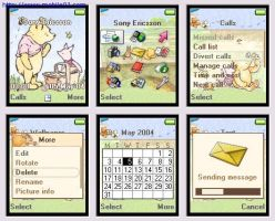 Classic pooh theme for T610 by cafe-cartel