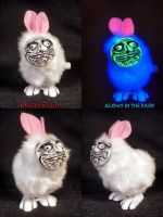 Me Gusta Windup Bubonic Bunny by Undead Ed by Undead-Art