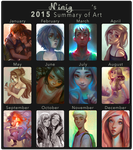2015 Summary of Art by Ni-nig