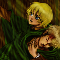 Armin and Jean by RobbieDGrimm