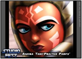 Ahsoka Tano-Practice Paints by Studio-Fett