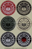 BSG CMC Uniform Patch by Wolff60