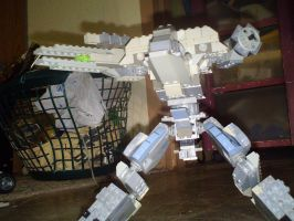 Metal Gear Rex LEGO by Crimson-Knight77