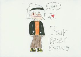 Soul Eater Evans by Booksmusicme