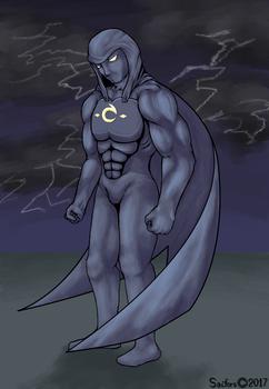 Drawing of a character from a friend by saifors