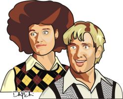Matt Stone and Trey Parker by DolfD