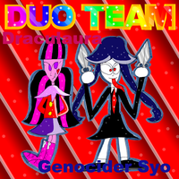 Duo Team-Draculaura and Genocider Syo by zigaudrey