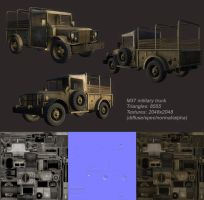 Dodge M37 Military truck by Roomper