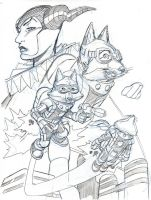 ROCKET FOX by Wieringo