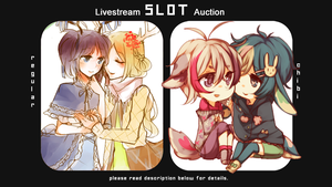 Livestream Slot Auction 2 [END!!] by niaro