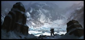 Glacier Wasteland by Gaius31duke