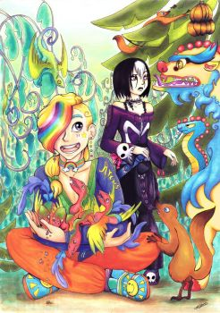 Arcus and Maud Copic Poster by DynastyCoco
