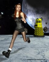Amy and the Dalek by xanaman