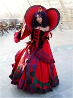 Queen of Hearts Cosplay by MetalQueen94