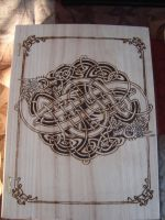 Celtic Dragon Knot Book Box by dppratt