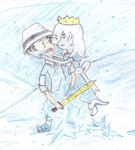 Saito Zero vs Ice Princess Part 2 by HiragaSaitoZero