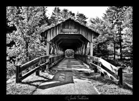 Covered Bridge by FallesenPhotography