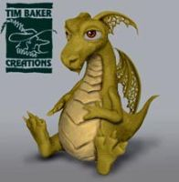Baby Dragon Maquette by TimBakerFX