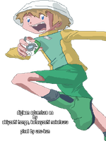 Takeru Running Pixelated by uzukun89