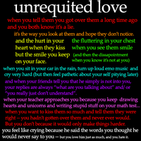 Unrequited by rachelsummerz
