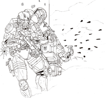 Breaching WIP by halonut117