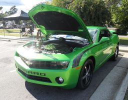 Beautiful Green Camaro 1 by MasterxZealot