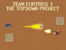 Team Fortress 2 Topdown Sprite by Goronguy