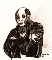 Lon Chaney as Erik by ChristopherCarrion