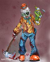 Psycho Clown by scottkaiser