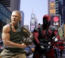 Cable and Deadpool (FAN MADE Live Action) by Darth-Slayer