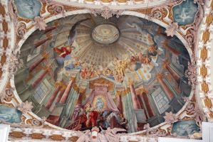 Detail ceiling Dom St. Jakob by ReneHaan