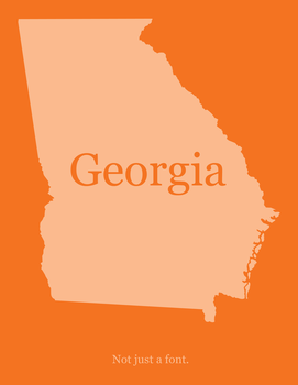 Georgia - Not just a font by jtotheg22