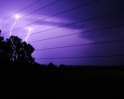 Lightning and Electricity by kyleshoesmith