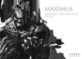 Maximus Profile - Eteka Rise of the Imamba by derylbraun